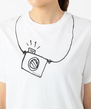 Paul Smith 【洗える!】CAMERA Tシャツ ホワイト系