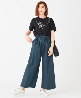 Paul Smith 【洗える!】CAMERA Tシャツ ブラック系