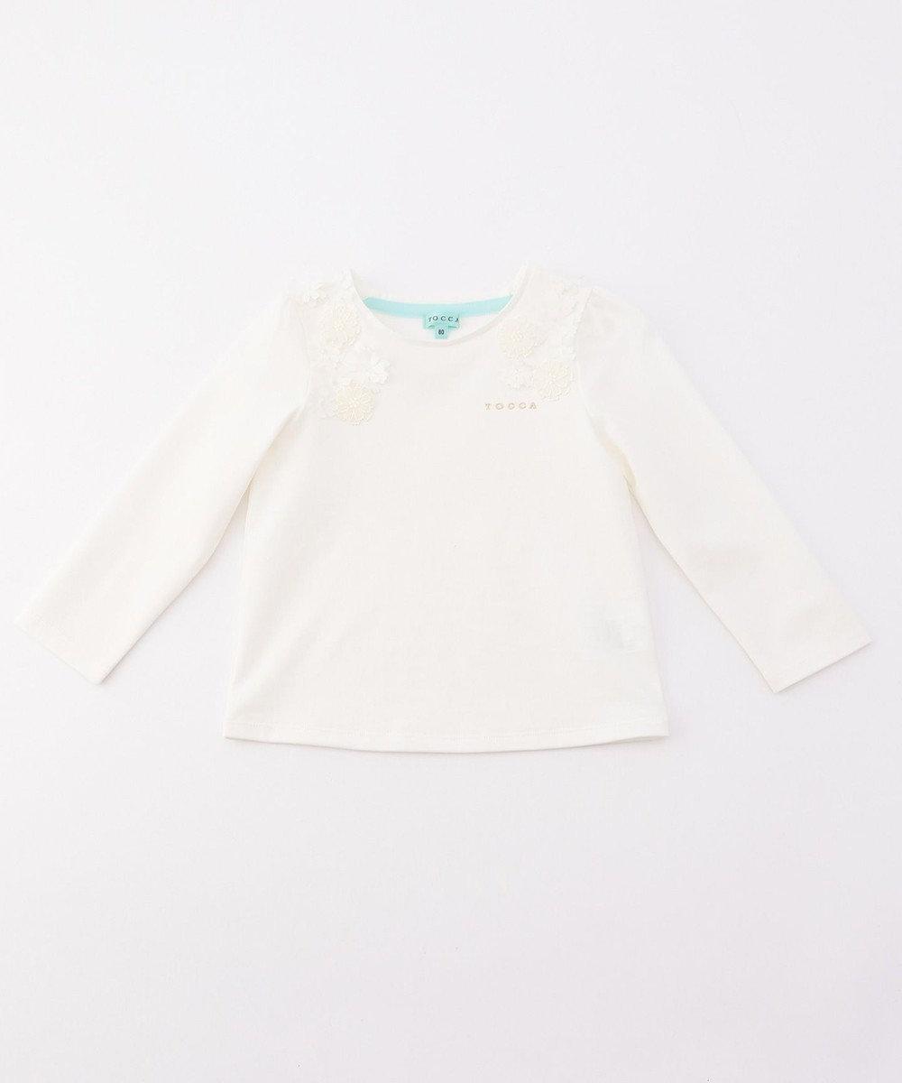 TOCCA BAMBINI 【80-90cm】Bloom×Bloom カットソー ホワイト系