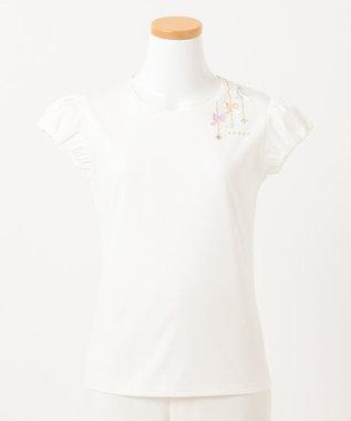 TOCCA BAMBINI 【150-160cm】プチビジュー Tシャツ ホワイト系