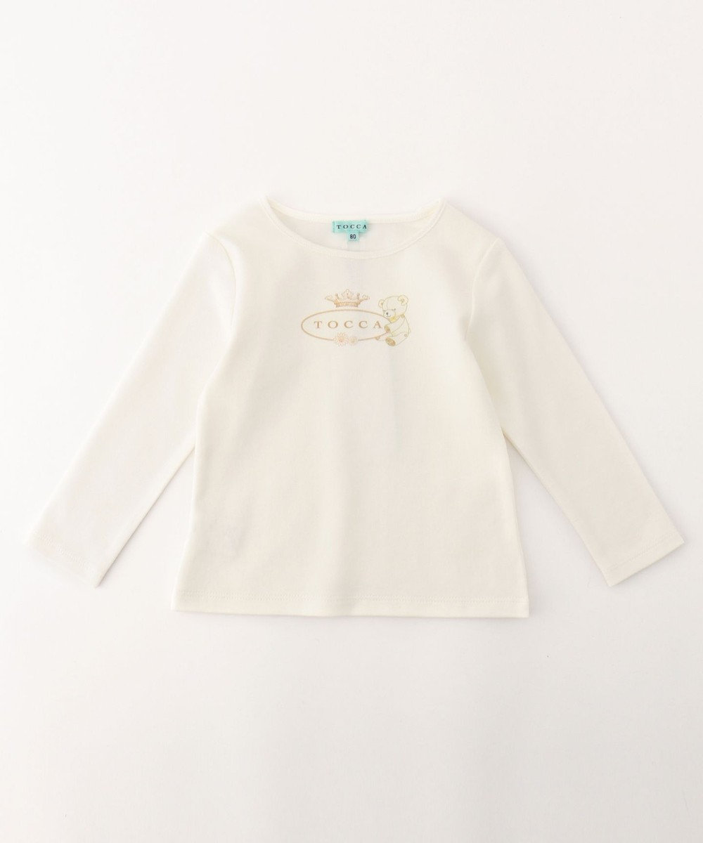 TOCCA BAMBINI 【BABY】TOCCA BEAR カットソー アイボリー系5