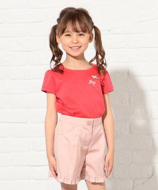 TOCCA BAMBINI 【KIDS】トリプルリボン カットソー レッド系