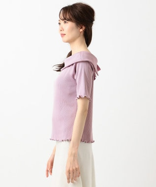 TOCCA 【CAPSULE COLLECTION】AMELIA トップス ライラック系