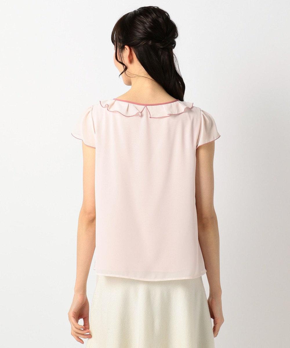 TOCCA 【洗える!】RUFFLE トップス ピンク系