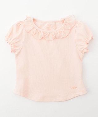 TOCCA BAMBINI 【80-90cm】フラワーカラー 半袖 Tシャツ ローズ系