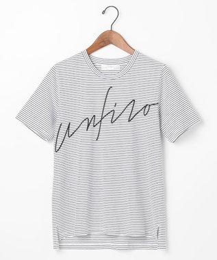 自由区 【Unfilo】ビッグロゴ Tシャツ ブラック系1