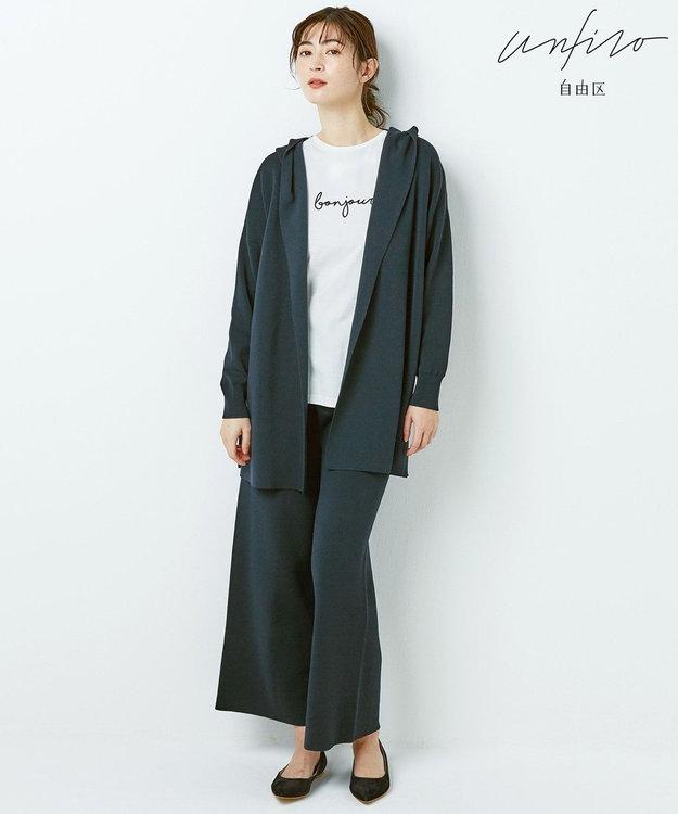 自由区 【Unfilo】フレンチロゴ Tシャツ(検索番号Z32)
