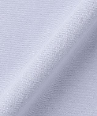 自由区 L 【Unfilo】コットン ミニロゴ チュニックワンピース スカイブルー系