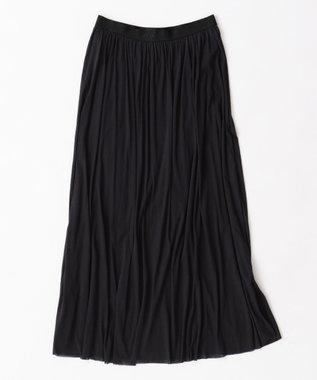 uncrave プライムクール ギャザースカート ブラック系