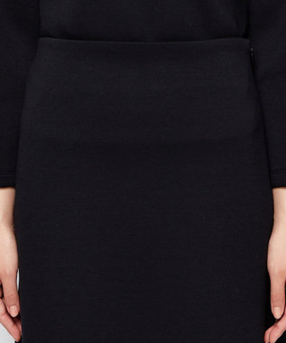 uncrave スポンジージャージー スカート ブラック