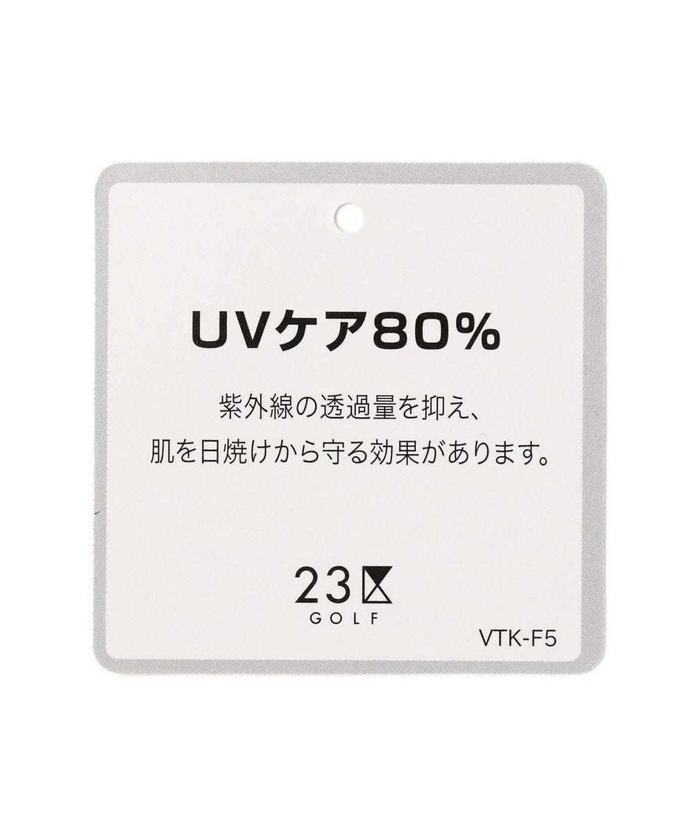 23区GOLF 【WOMEN】【UV / 吸水速乾】30dカノコ インナー(無地/クルーネック) ホワイト系