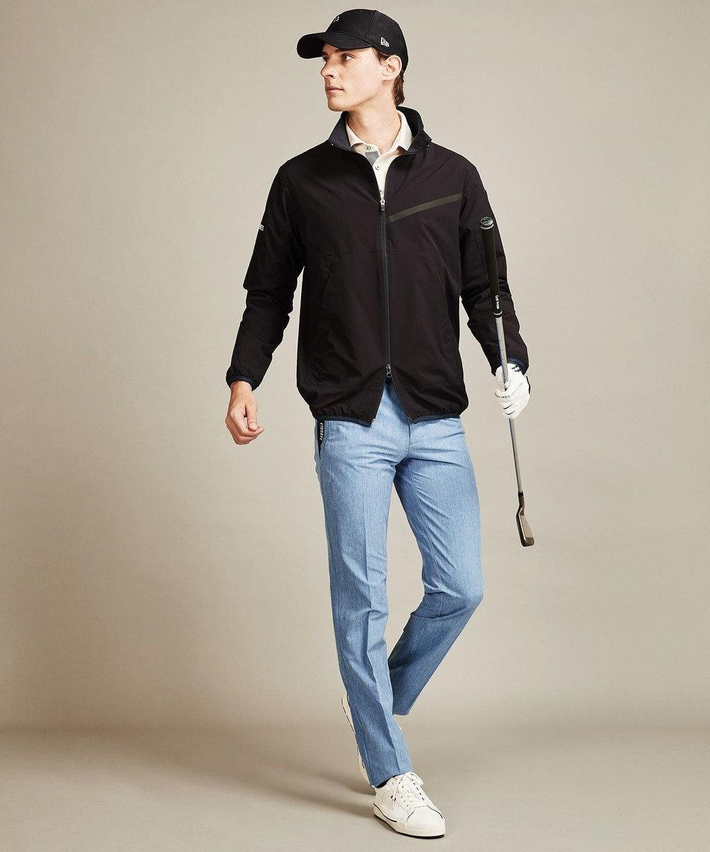 23区GOLF 【MEN】【吸汗速乾/UV/日本製】ハニカムカノコ シャツ ホワイト系