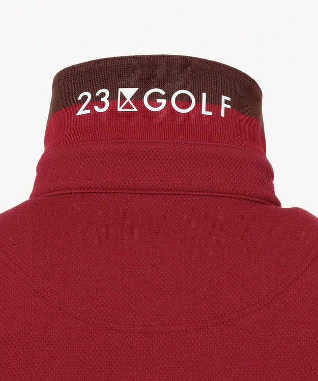 23区GOLF 【MEN】【吸汗速乾/UV/日本製】ハニカムカノコ シャツ