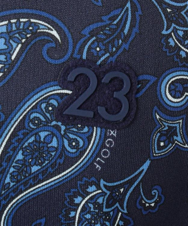 23区GOLF 【MEN】【吸水速乾】ペイズリープリントシャツ