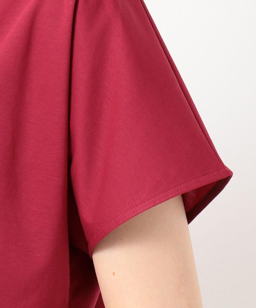 自由区 【Class Lounge】TECHNO RAMA チュールデザインTシャツ レッド系