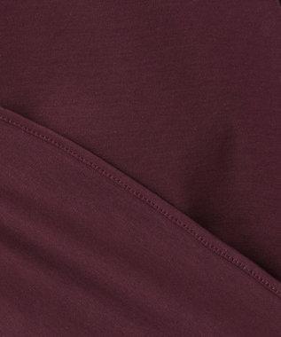 自由区 【Class Lounge】TECHNO RAMA ボリューム スリーブ Tシャツ ダークブラウン系