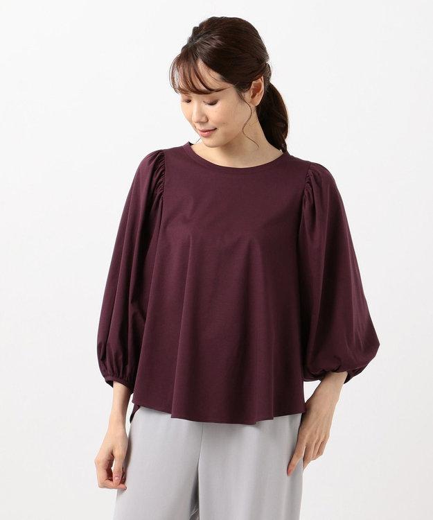 自由区 【Class Lounge】TECHNO RAMA ボリューム スリーブ Tシャツ