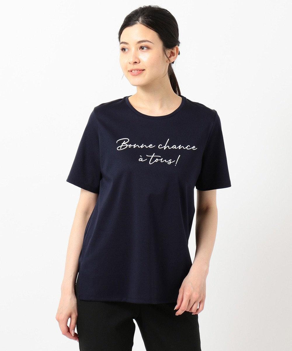 自由区 【Class Lounge】ALBINI ROYAL COOL Tシャツ ネイビー系
