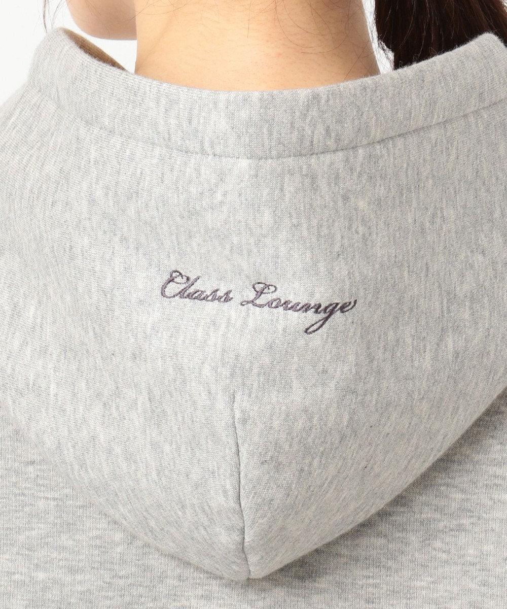 自由区 【Class Lounge】CASHMERE TOUCH HOODIES パーカー ライトグレー系