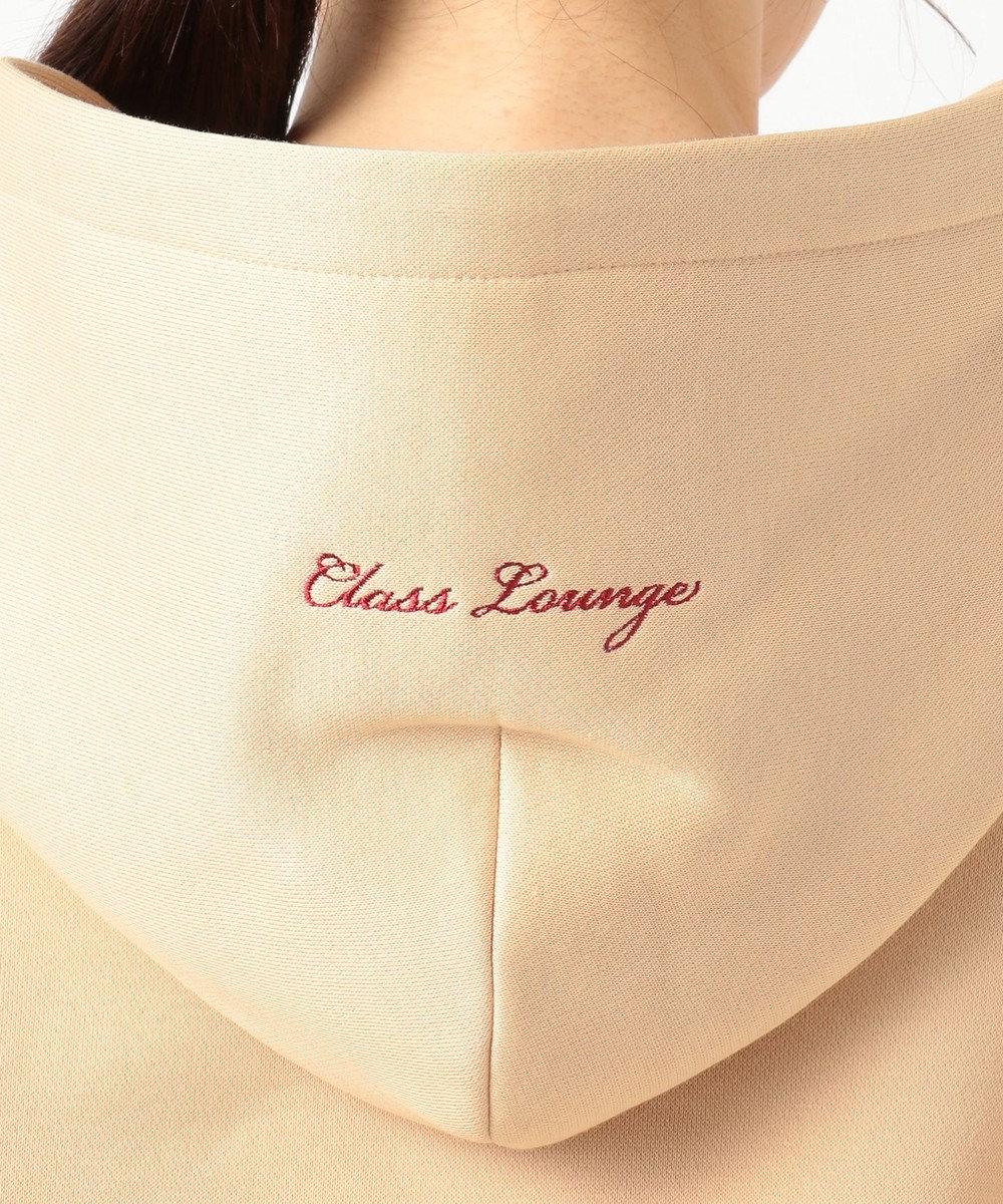 自由区 【Class Lounge】CASHMERE TOUCH HOODIES パーカー ベージュ系