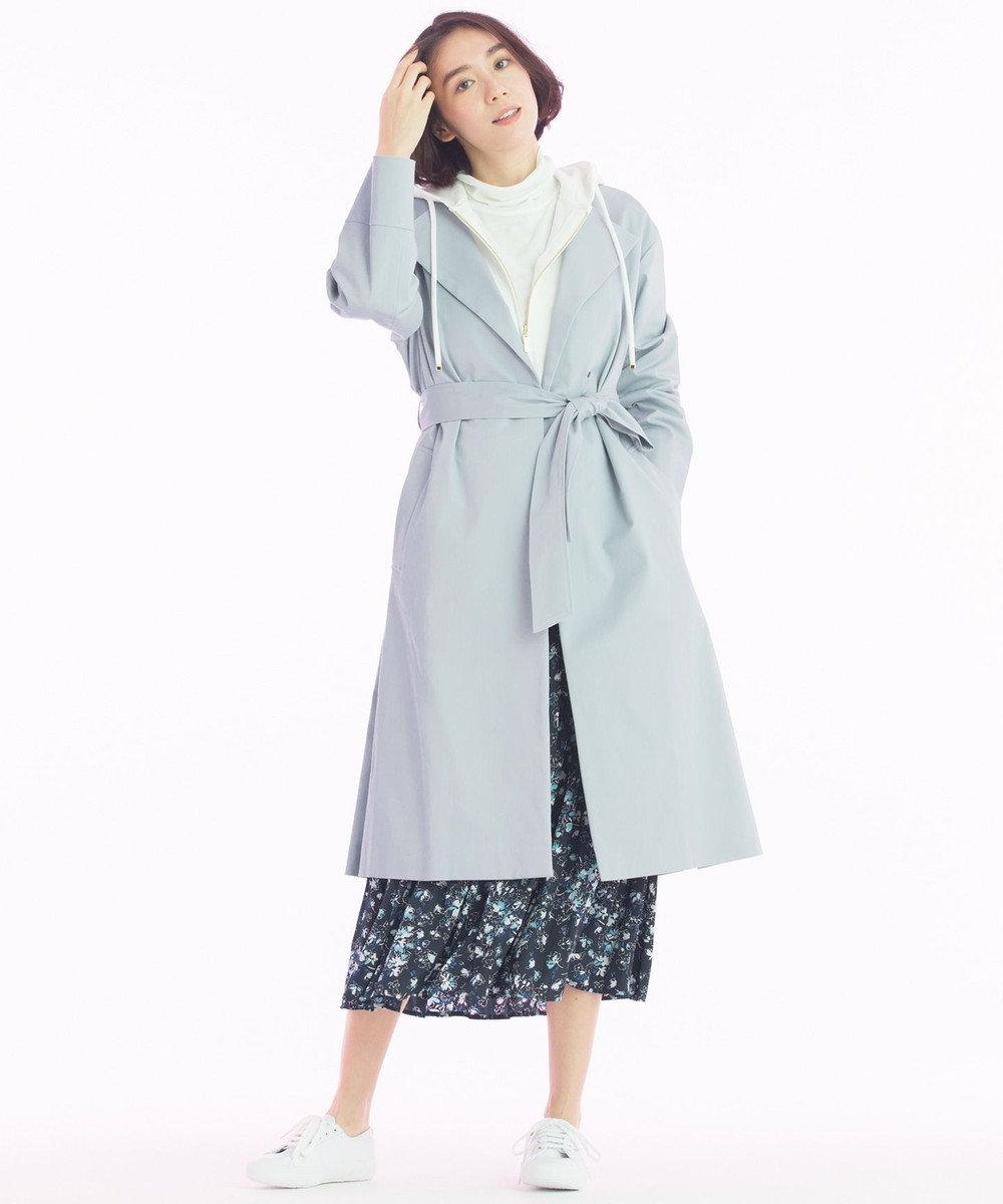 自由区 【マガジン掲載】シフォンガーゼ カットソー(検索番号D43) アイボリー系