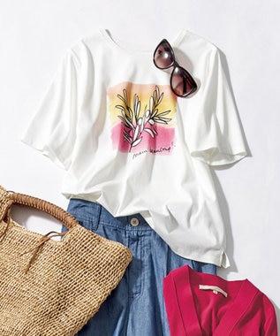 【マガジン掲載】PENELOPE グラフィックTシャツ(検索番号G24)