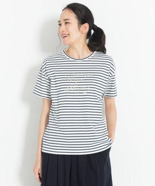 【マガジン掲載】メッセージ エンブロイダリーTシャツ(検索番号G27)