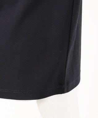自由区 【マガジン掲載】エンブロイダリーコットン カットソー(検索番号H37) ネイビー