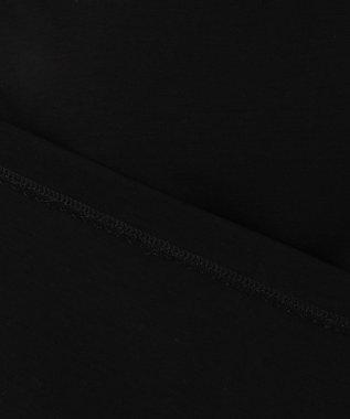 23区 【WEB限定カラーあり】コンパクトポンチぺプラムカットソー ブラック系