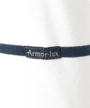 23区 【洗える】Armor-lux スムース カットソー ネイビー系1
