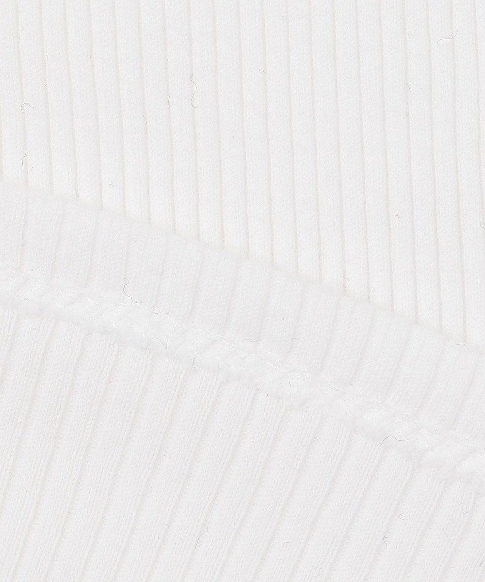 23区 【R(アール)】COTTON RIB JERSEY タンクトップ ホワイト系