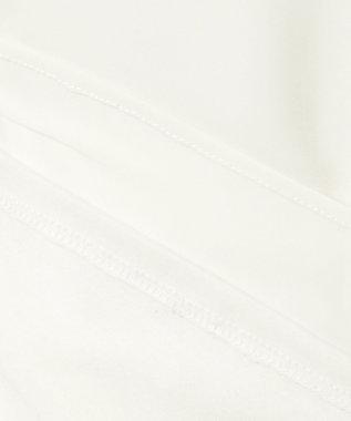 23区 S 【洗える】シルキーデシン カットソー ホワイト系