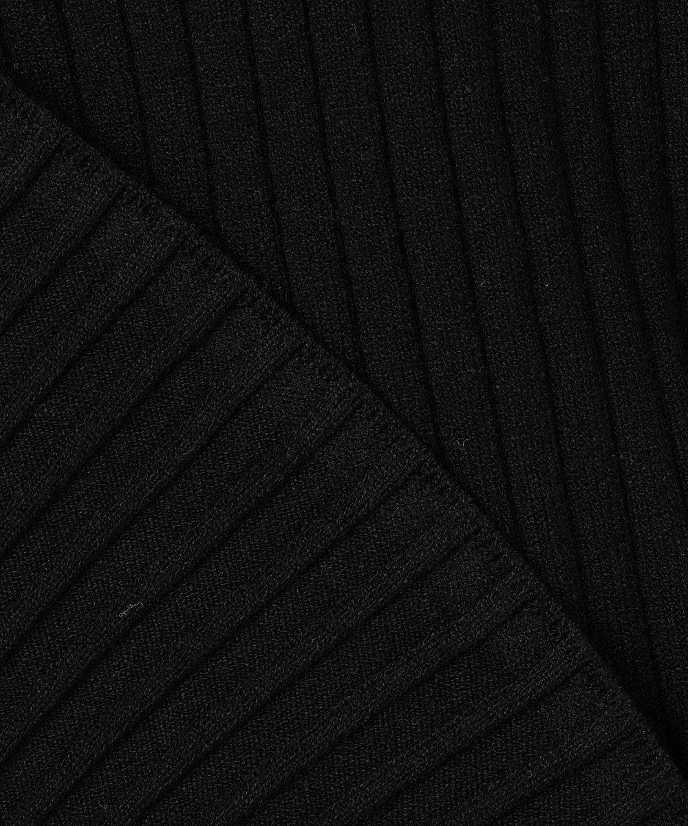 23区 【マガジン掲載】ストレッチリブ プルオーバー(番号2H44) ブラック系