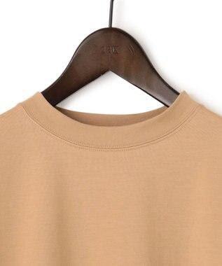 23区 【洗える】コットンベアジャージー ロング Tシャツ キャメル系