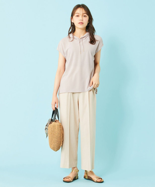 any SiS 【ecolofriend】フレンチスリーブ パーカー