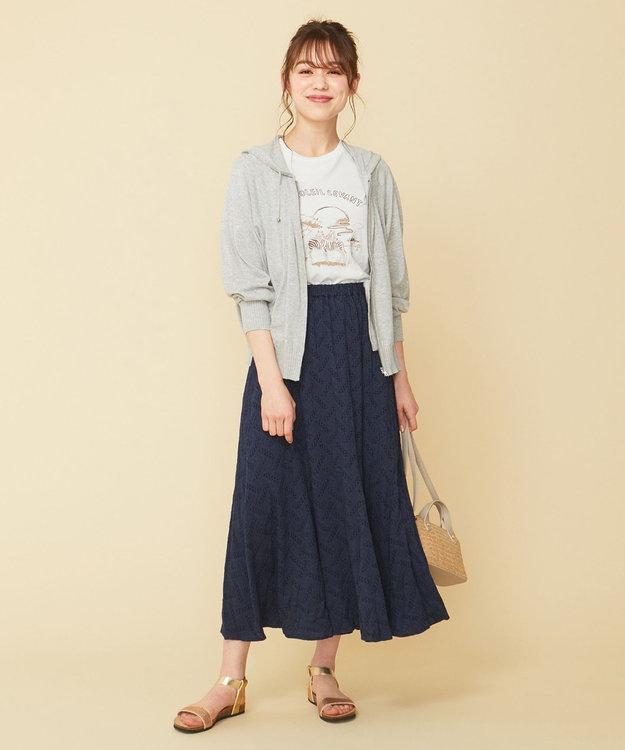any SiS L 【L'aube】サファリロゴ Tシャツ