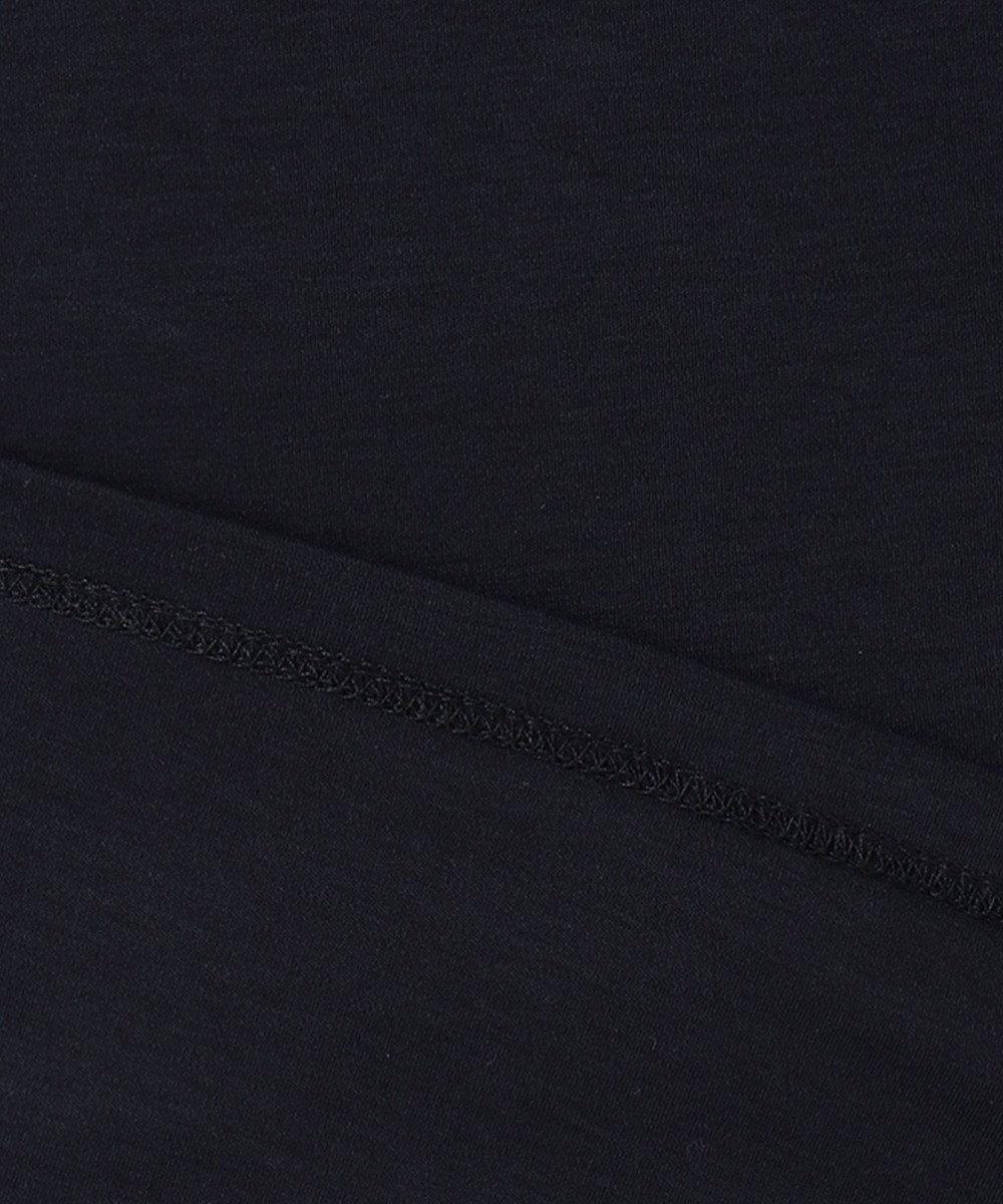 any SiS L 【Ray6月号掲載】Rich cottonスムース フレンチスリーブ Tシャツ ネイビー