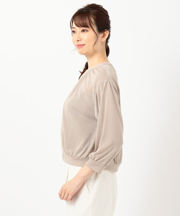 any SiS 【洗える】シアーライト ブルゾン