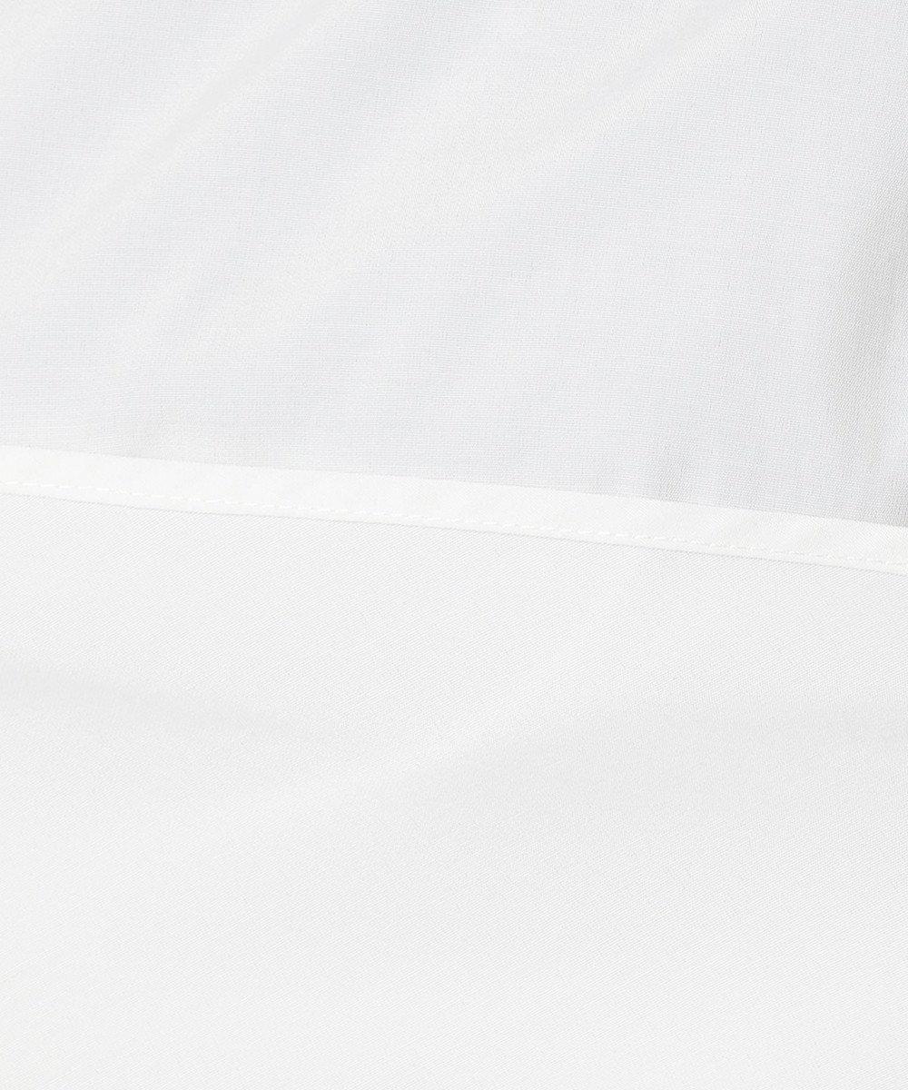 any SiS ドッキングリボン ブラウス オフホワイト