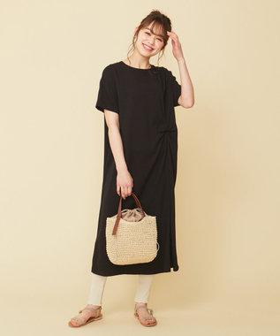any SiS 【L'aube】T ワンピース ブラック