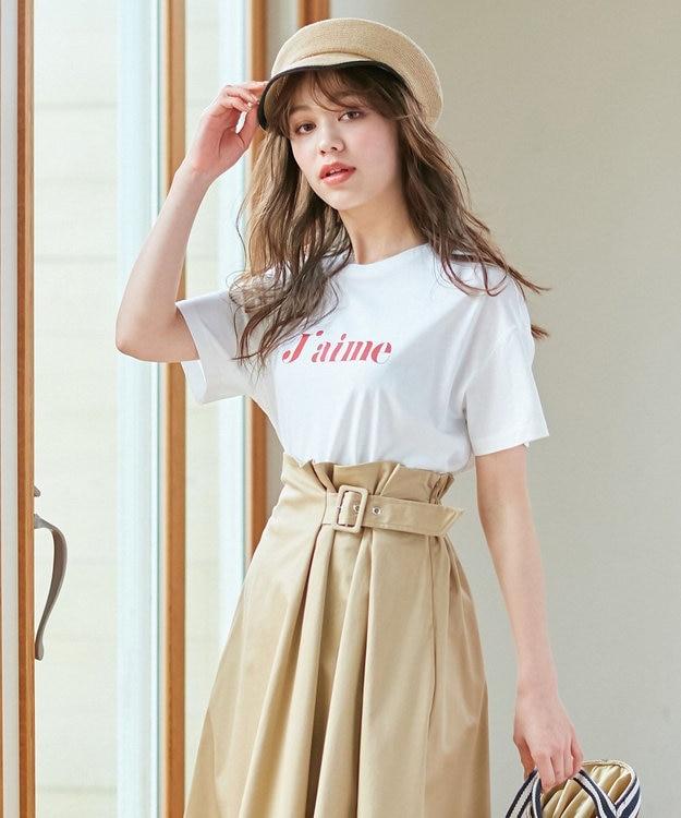 any SiS S 【L'aube】ロゴ Tシャツ