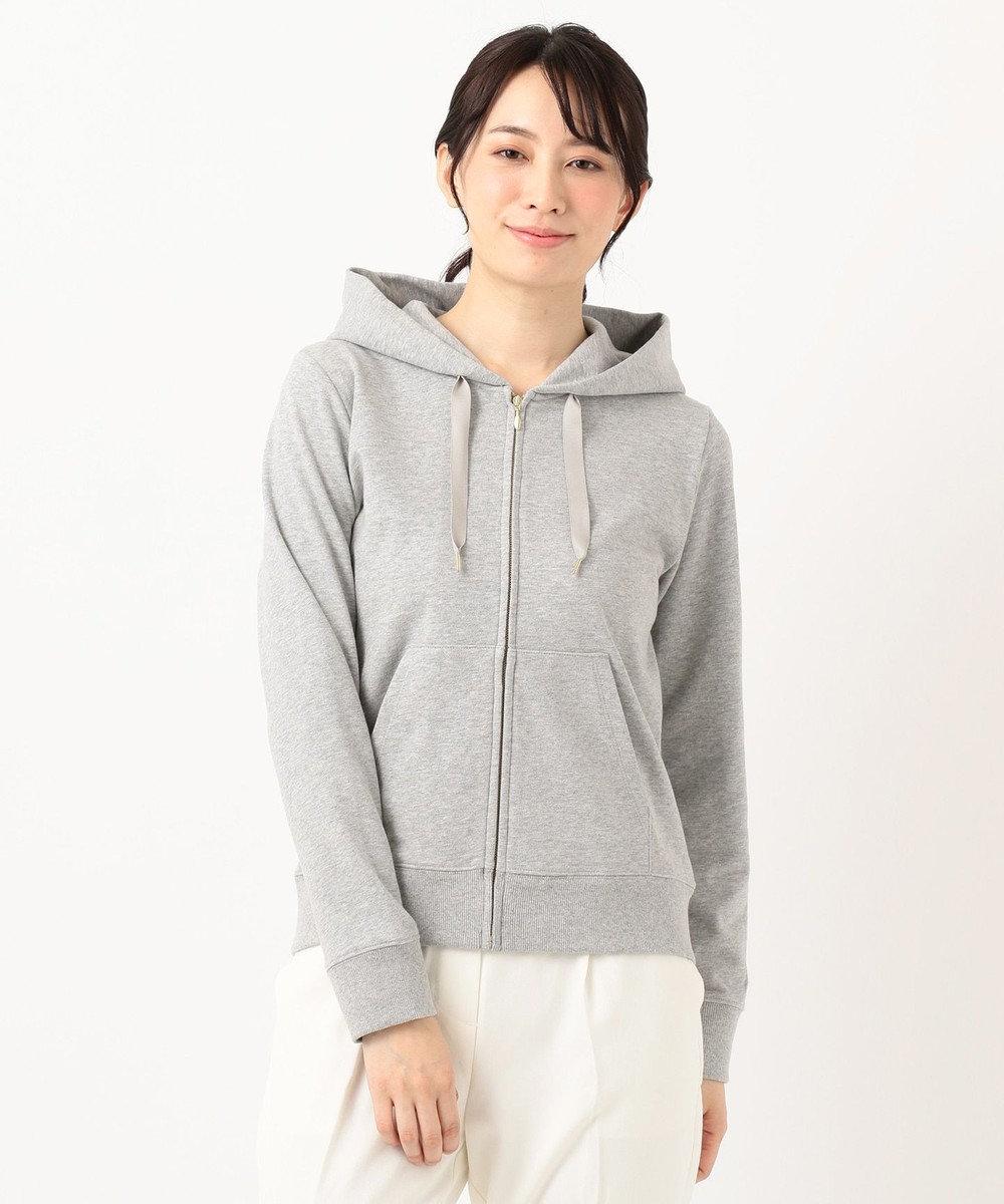 any SiS S 【UVケア】ベーシックジップ パーカー ライトグレー