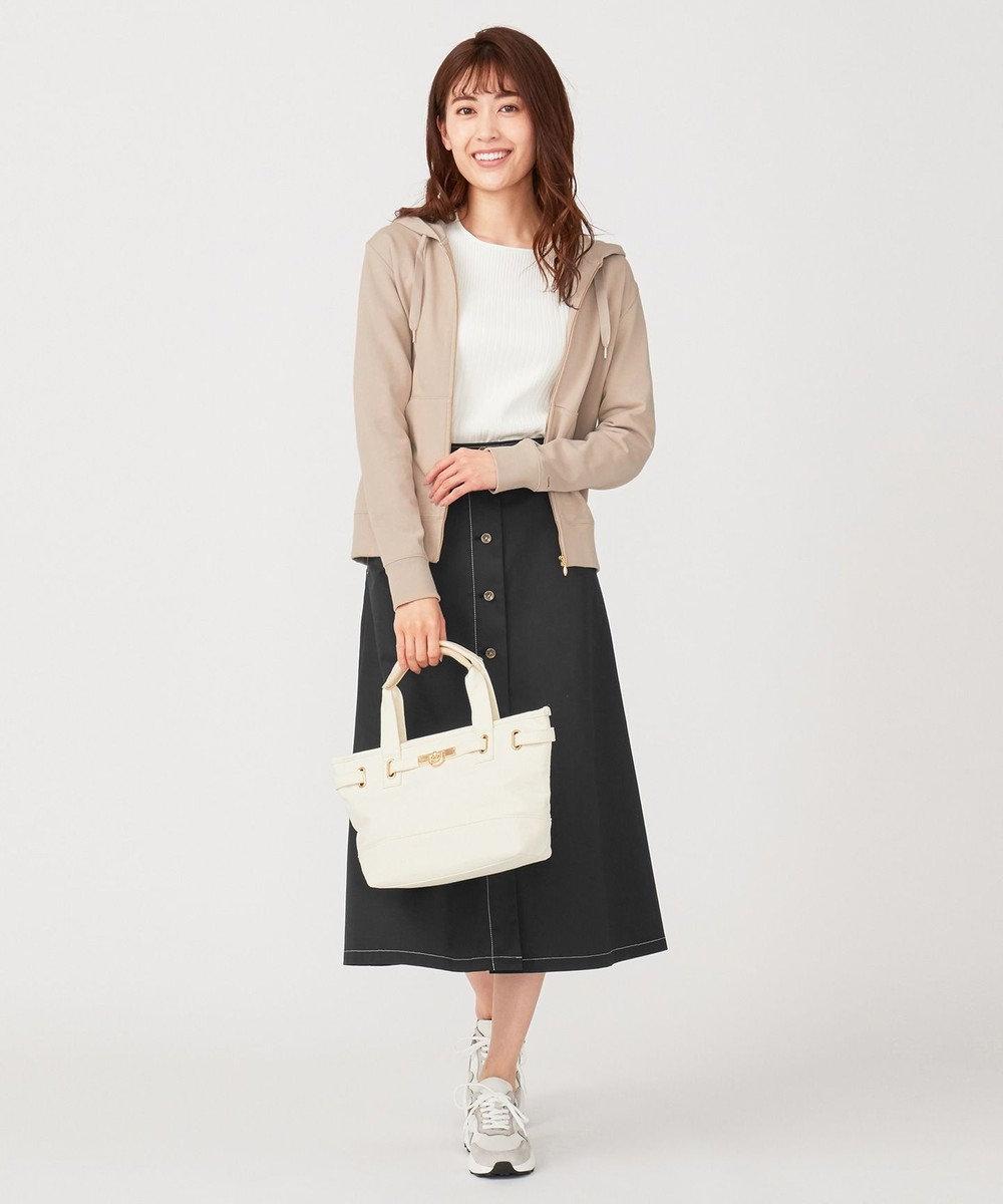 any SiS S 【UVケア】ベーシックジップ パーカー グレージュ