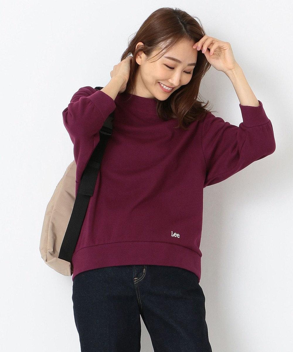 any SiS 【Leeコラボ】裏毛プルオーバー トップス ダスティカシス
