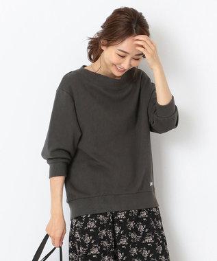 any SiS 【Leeコラボ】裏毛プルオーバー トップス カーキグレー