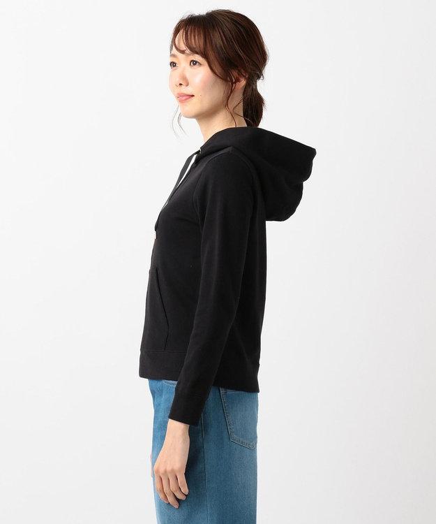 any SiS 【洗える】ロゴ刺繍裏毛 パーカー