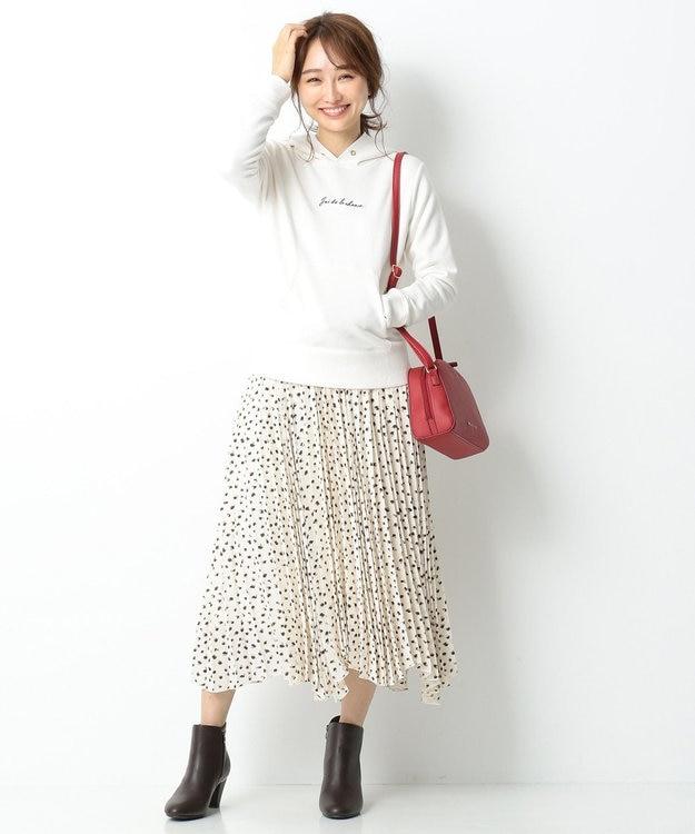 any SiS S 【洗える】ロゴ刺繍 裏毛パーカー