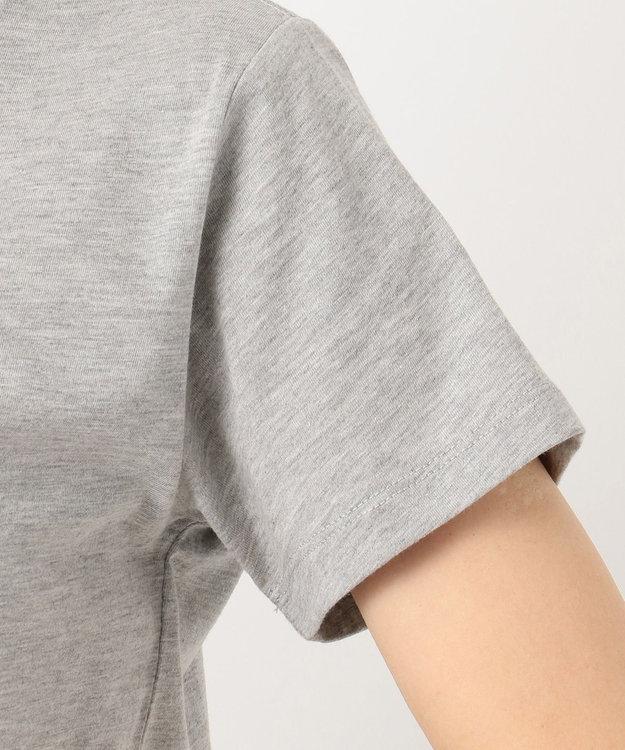 any SiS S L'aube クルーネックロゴ Tシャツ