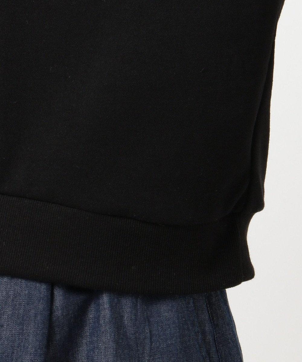 any SiS L ロゴ刺繍 スウェット プルオーバー ブラック系