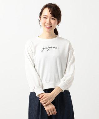 any SiS L ロゴ刺繍 スウェット プルオーバー ホワイト系